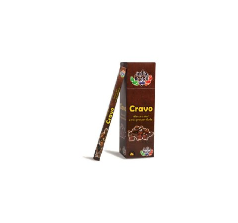 Caixinha de Incenso CRAVO com 8 Varetas | Indiano | Varejo