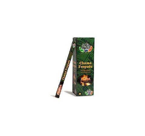 Caixinha de Incenso CHAMA FREGUÊS com 8 Varetas | Indiano | Varejo