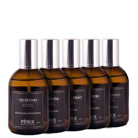 4 Essências Home Spray Fênix Aromas Sortidos
