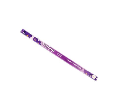 Incenso Gigante Jardim Violeta Flute 48cm 12 Caixas