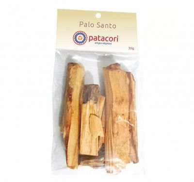 Incenso Natural Palo Santo 60g Madeira Sagrada Do Perú