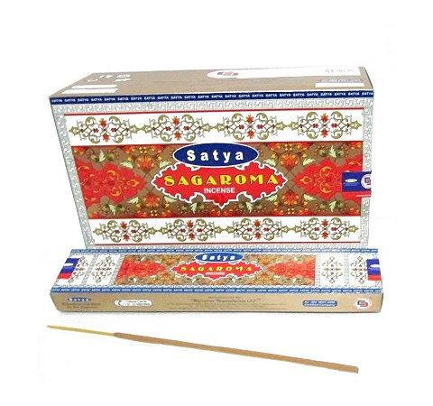 Incenso Massala Satya Sagaroma Pacote Com 2 Caixas De 15g