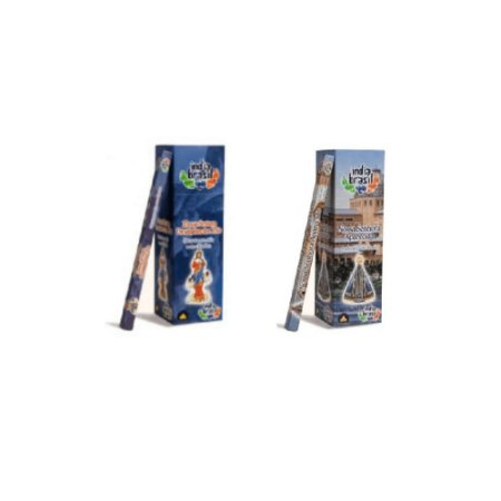 Kit De Incensos Nossa Senhora Com 25 Caixinhas Sortidas (200 Incensos)