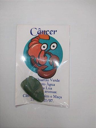 Pedra Quartzo Verde Signo de Câncer