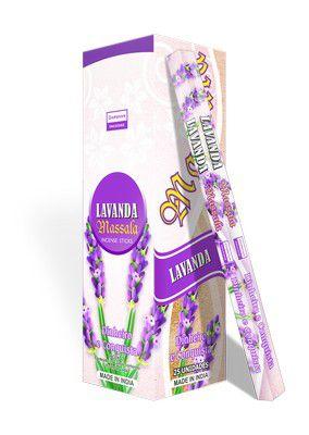 Incenso Indiano Darshan Lavanda 1 box fechado