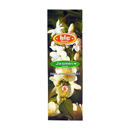 Incenso Bic Jasmim 1 Caixa com 8 Varetas