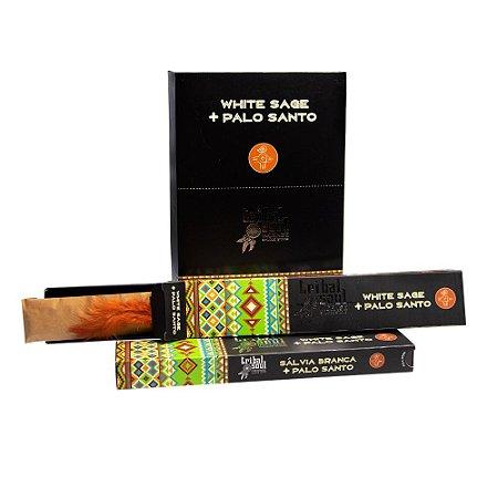 Incenso Massala Tribal Soul White Sage Lavender 1 Caixa com 9 Varetas