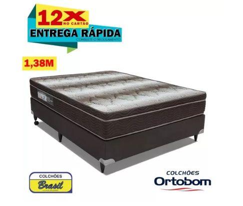 Conjunto Ortobom Light Ortopédico Casal 138x66