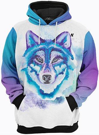 Blusa de Frio Moletom Super Lobo