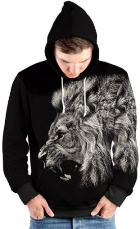 Blusa de Frio Moletom Leão Selvagem