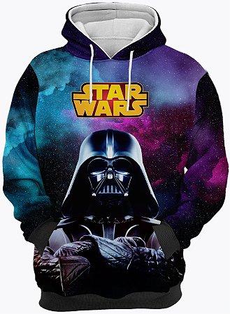 Blusa de Frio Moletom Star Wars Darth Vader
