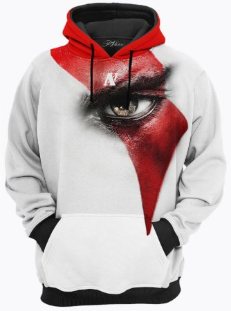 BLUSA DE FRIO MOLETOM God Of War