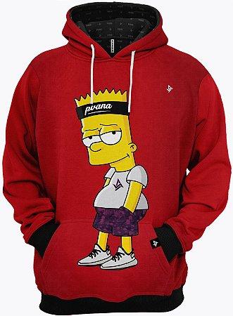 Roupa de Frio Moletom Bart Simpsons Top