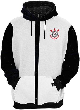 Blusa de Frio Moletom Sport Club Corinthians Paulista