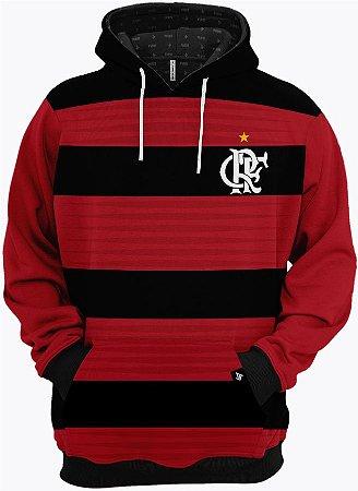 Blusa de Frio Moletom Clube de Regatas do Flamengo