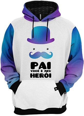 Blusa Frio Moletom Pai Você é o Meu Herói