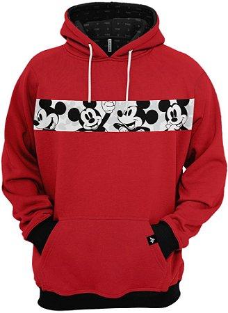 Blusa Frio Moletom Mickey Mouse Desenho