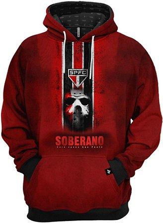 Blusa de Frio Moletom Clube São Paulo Soberano
