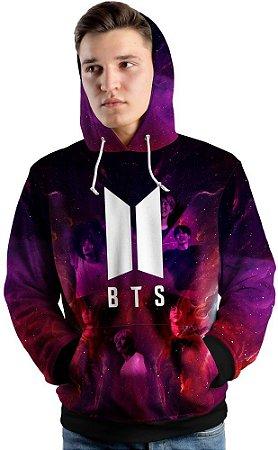 Blusa de Frio Moletom Grupo BTS Boy With Luv