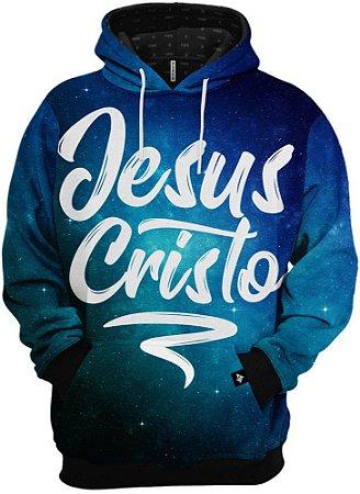 Blusa de Frio Moletom Gospel Jesus Cristo