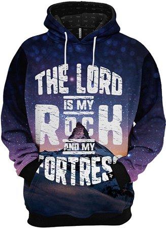 Blusa De Frio Moletom O Senhor É Minha Rocha E Minha Fortaleza