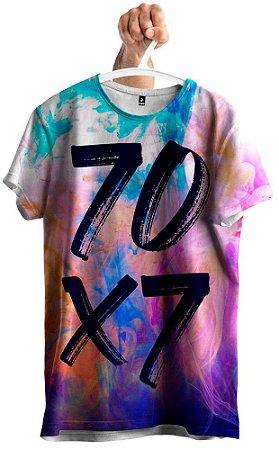 Camiseta Galáxia 70 X 7 Evangélica