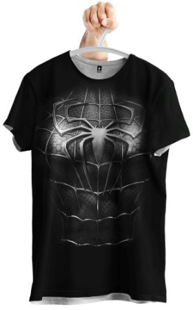 Camiseta Homem Aranha Black