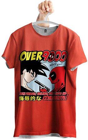 Camiseta Son Goku x Deadpool