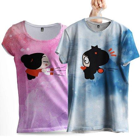 KIT 2 CamisetaS Casal que se Atraem