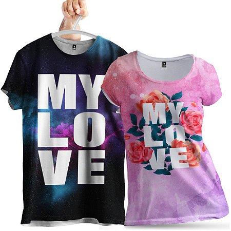 KIT 2 Camisetas My Love