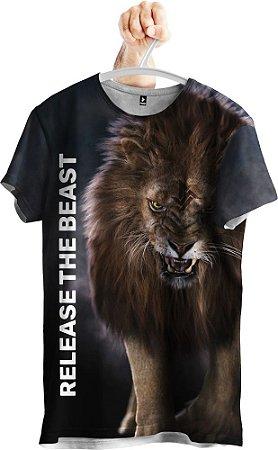 Camiseta Leão Fera