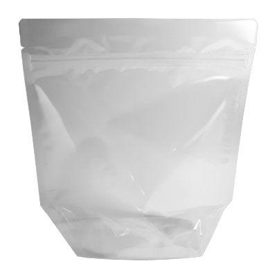Embalagem Plástica Stand-up Pouch com zíper 18 x 19,5 cm - 50 unidades