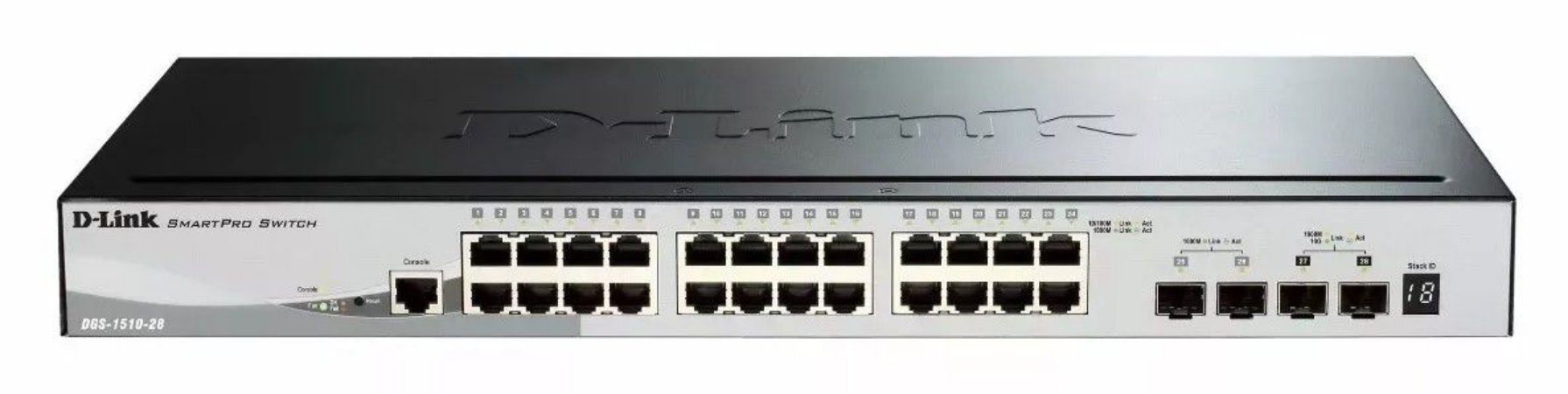 Switch D-link Dgs-1510 24 10/100/1000 Poe+ 2-sfp/2-sfp-68416