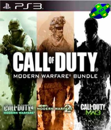 CALL OF DUTY MODERN WARFARE 3 IN 1 + DLCs - PS3