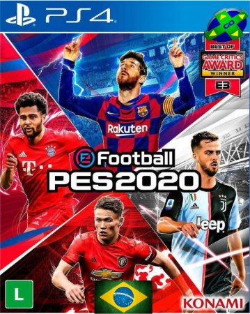 PES 2020 - PRO EVOLUTION SOCCER 2020 - PS4