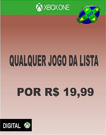 QUALQUER JOGO DA LISTA POR R$19,99