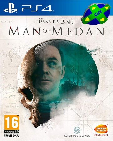 THE DARK PICTURE ANTHOLOGY MAN OF MEDAN - PS4