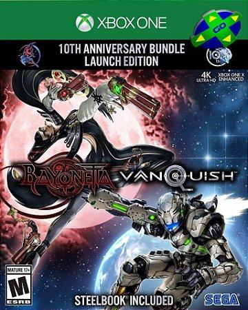 BAYONETTA AND VANQUISH 10TH ANNIVERSARY LAUNCH BUNDLE - XBOX ONE