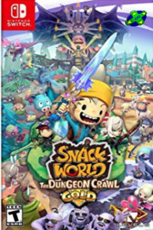 SNACK WORLD: THE DUNGEON CRAWL - NINTENDO SWITCH