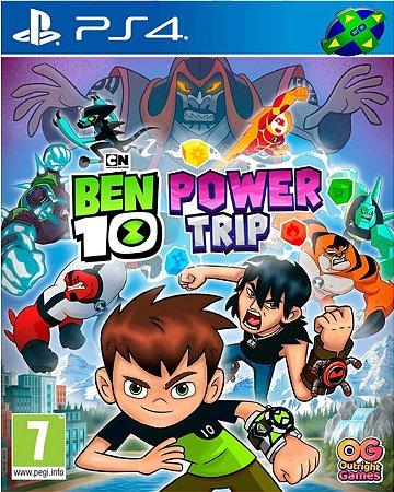 BEN 10 UMA SUPER VIAGEM POWER  TRIP - PS4