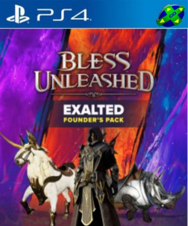 BLESS UNLEASHED EXALTED FOUNDERS PACK  - PS4