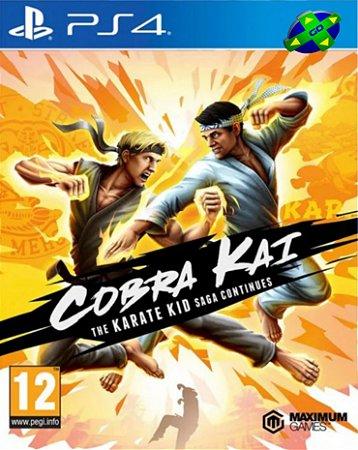 Cobra Kai The Karate Kid Saga Continues - PS4