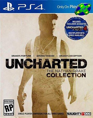 Uncharted Nathan Drake Collection -  PS4
