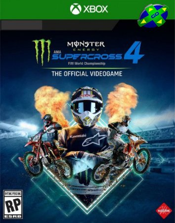 Monster Energy Supercross 4 - XBOX One/Series X/S