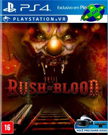 Until Dawn Rush Of Blood VR