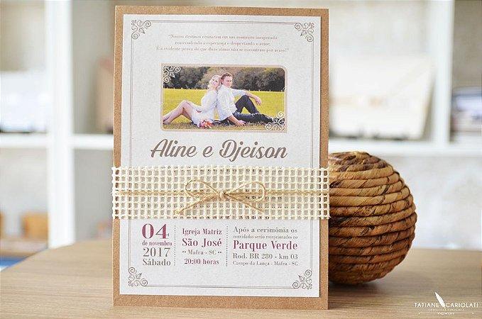 Convite Aline