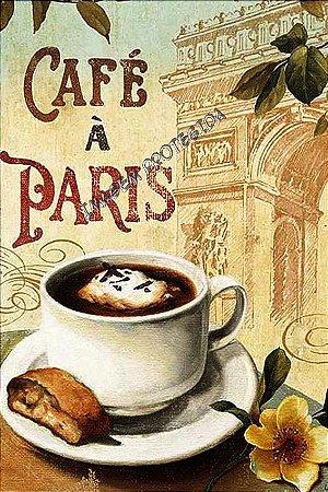 Pôster café Paris