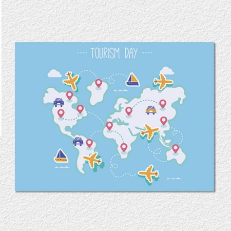 Placa Travel World