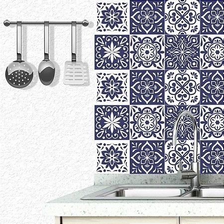adesivo azulejo cobalto