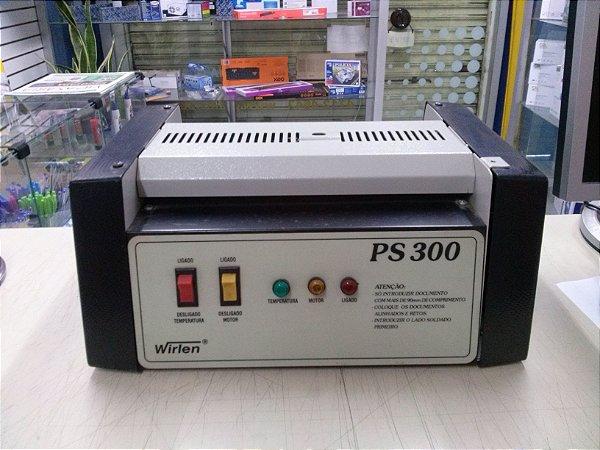 PLASTIFICADORA POLASEAL WIRLEN PS300 OFÍCIO / USADA